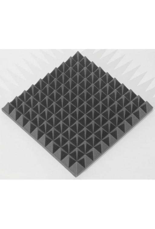 Ecosound Пирамида 70мм Mini, черный графит 50х50см