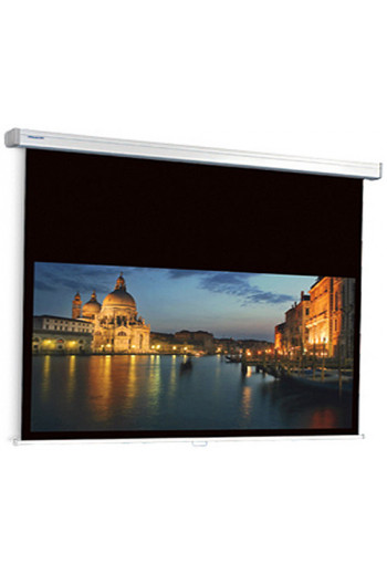 Projecta ProScreen CSR extended black drop Controlled Screen Return - Wide 16:10
