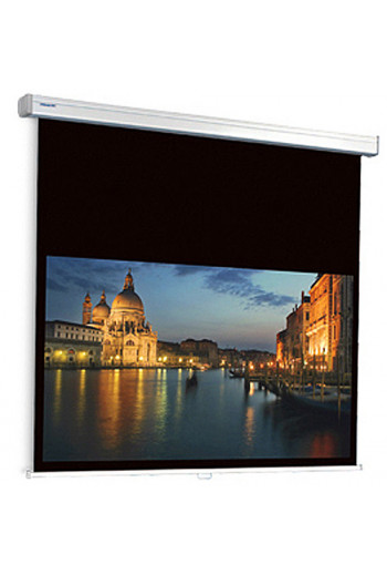 Projecta ProScreen CSR extended black drop Controlled Screen Return - HDTV 16:9