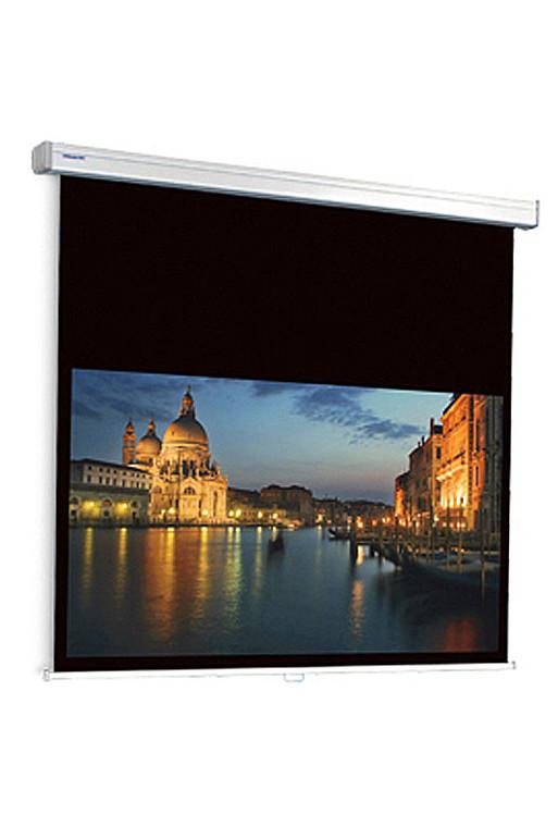 Projecta ProScreen extended black drop Standard Spring Mechanism - HDTV 16:9