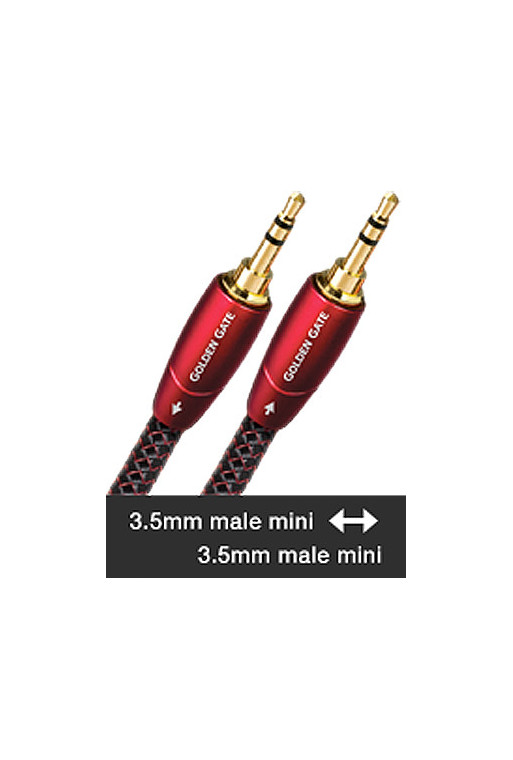 AudioQuest GOLDEN GATE 3,5mm male - 3,5mm male (1m)