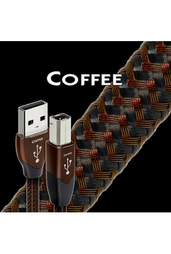 AudioQuest USB Coffee (A to B plug:: A to Mini plug:: iPod 30-pin to A)