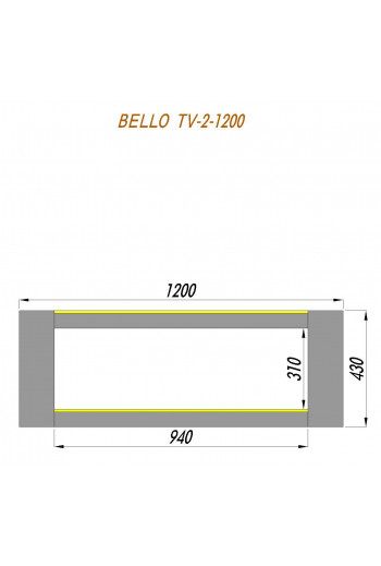 ADLUX BELLO TV-2-1200