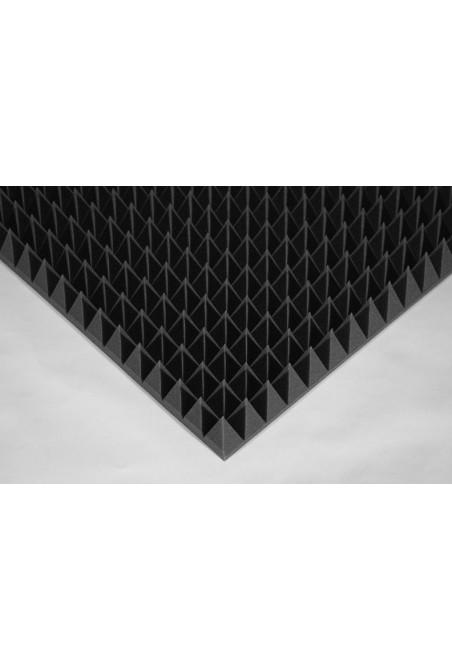 Ecosound Пирамида 90мм Mini, черный графит 50х50см