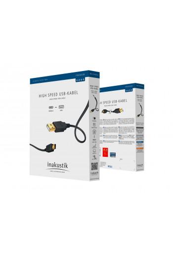 Inakustik Premium USB A - B 1.0м