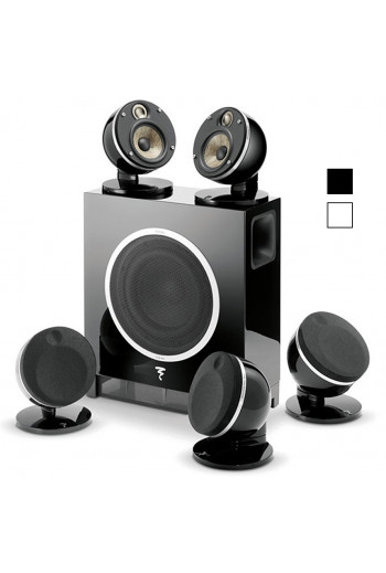 Focal DOME PACK 5.1 FLAX ET SUB AIR Black