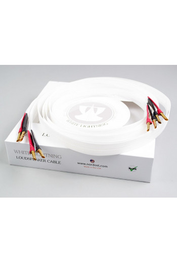 Nordost White lightning 2x2.5m low-mass Z plugs