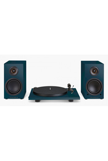 TRIANGLE LN01A & Pro-ject TURNTABLE Abyss Blue
