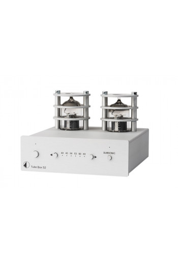 Pro-ject Tube Box S2 silver