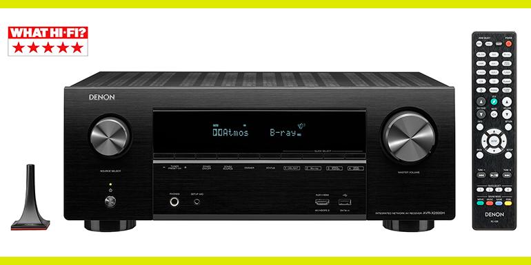 AV-ресивер Denon AVR-X2600H  «П'ять зірок»  What Hi-Fi