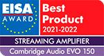 cambridge audio evo 150 eisa award
