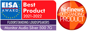 monitor audio silver 500 7g awards
