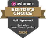 polk audio s30e awards